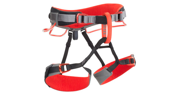 Black Diamond Momentum DS Harness XS-M steel/lava